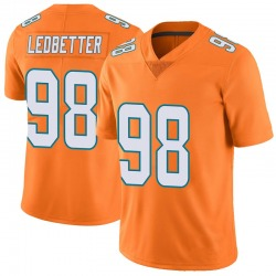 Nike Jonathan Ledbetter Miami Dolphins Youth Limited Orange Color Rush Jersey