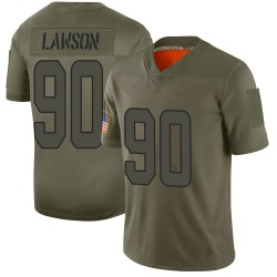 Nike Shaq Lawson Miami Dolphins Youth Limited Camo 2019 Salute to Service Jersey